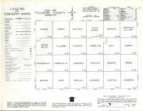 Index Map, Fillmore County 1963
